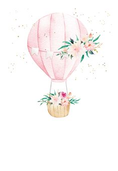 Flower Background Wallpaper, Flower Backgrounds, Cute Illustration, Watercolor Illustration, Happy Birthday Funny, Funny Happy, Card Birthday, Birthday Greetings, Birthday Ideas