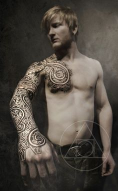 Urnes armor tattoo
