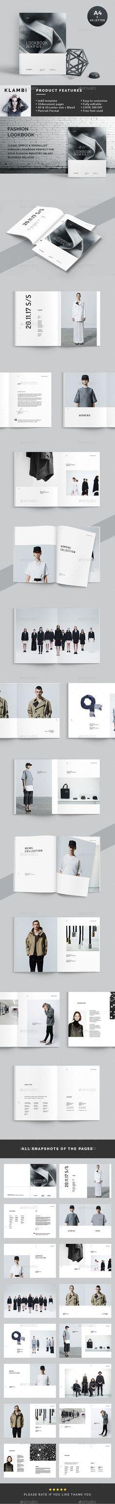 Lookbook - Catalogs Brochures   Download : https://graphicriver.net/item/lookbook/19287292?ref=sinzo