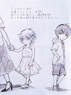 ;-; little karma and nagisa