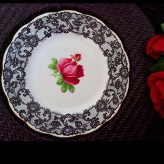 Royal albert senorita plate
