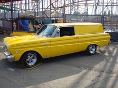 Ford Falcon 1964 Custom Muscle Cars Ideas For You Hot Rod Trucks, Chevy Trucks, 65 Ford Falcon, Chevrolet Sedan, Old Wagons, Custom Muscle Cars, Panel Truck, Old Fords, Drag Cars