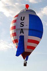 USA Rocket balloon