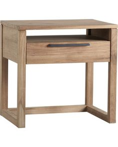 Crate and barrel night stand