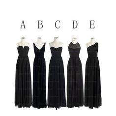 The+Black+bridesmaid+dresses+are+fully+lined,+8+bones+in+the+bodice,+chest+pad+in+the+bust,+lace+up+back+or+zipper+back+are+all+available,+total+126+colors+are+available. Most+brides+order+all+bridesmaid+dresses+at+a+time,+we+recommend+this+way,+firstly,+we+could+use+the+same+roll+material+to+ma...
