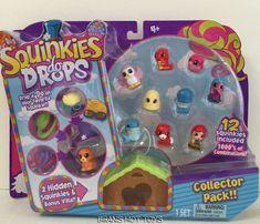 Squinkies 'Do Drops  2016 12 Pack 2016 Season 1 + 4 Do's & Villa Ultra Rare Do's #Blip