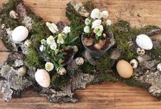 Ich liebe, liebe, liebe Osterdeko. Wer noch? Ostern fällt bekanntermaßen mit dem Frühlingsanfang zusammen und das bedeutet, man kann mit tollen Materialen aus der Natur und vor allem BLUMEN …