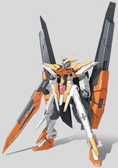 GN-011 Gundam Harute (aka Gundam Harute, Harute), is the successor unit to GN-007 Arios Gundam in Mobile Suit Gundam 00 The Movie -A wakening of the Trailblazer-. The unit is piloted by Allelujah Haptism and co-piloted Soma Peries. Front