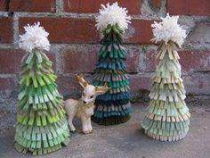 DIY Felt Christmas Tree : DIY Felt Sweater Christmas Trees