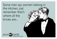 I love being in my kitchen.