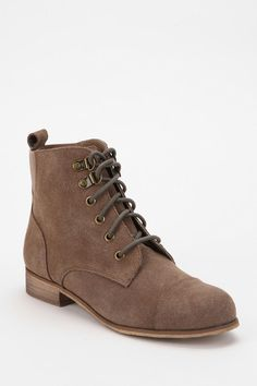 BDG Chelsea Suede Lace-Up Boot  #urbanoutfitters