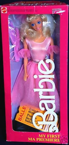 Barbie My First Barbie Ballet Box # 01788 Value and Details