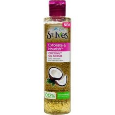 St. Ives Exfoliate and Nourish Coconut Facial Oil Scrub, 4.23 oz - Walmart.com