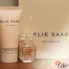 This Ellie Saab Body Lotion & Miniature fragrance is part of the First Prize Hamper in my 1000th Fan Celebration Hamper! A former Scent of Week this feminine, flowery woody composition scent quite addictive & could be yours. Enter here ~ beautybelle.co.za