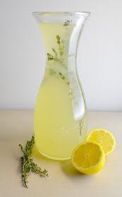 The Inventive Vegetarian: Recipe Redux: Thyme Lemonade
