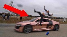 Flipping Over Supercar!   Tanner Braungardt