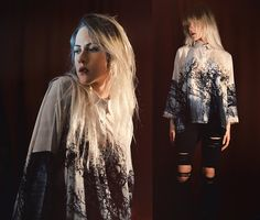 Get this look: http://lb.nu/look/7953834  More looks by Kadri S: http://lb.nu/kadri_s  Items in this look:  Blouse, Ripped Jeans   #bohemian #casual #grunge #ripped #trees #blouse #print #jeans #urban