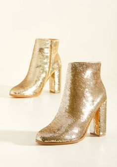 A Sequin-Win Situation Bootie