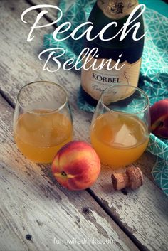 Need a brunch cocktail alternative to mimosas? Look no further than the Peach Bellini recipe for your Easter breakfast.