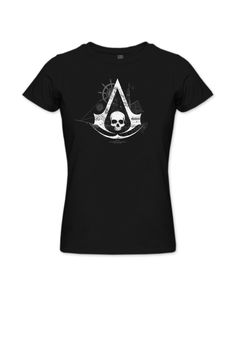 UbiWorkshop Store - Assassin's Creed Black Flag - Dev Team T-Shirt - Black - Women, US$24.99 (http://store.ubiworkshop.com/assassins-creed/assassins-creed-iv-black-flag/t-shirts/dev-team-e3-black-women)