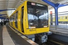 BERLIN Transport (BVG) unveiled the first of two prototype new-generation trains for the city's narrow profile U-Bahn lines at Olympia-Stadion station on February 3.