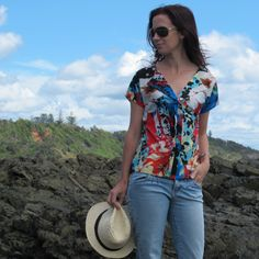 Liesl and co weekend getaway blouse