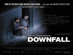 Downfall (German: Der Untergang) is a 2004 German war film directed by Oliver Hirschbiegel, depicting the final ten days of Adolf Hitler's reign over Nazi Germany in 1945. Description from atesun.com. I searched for this on bing.com/images