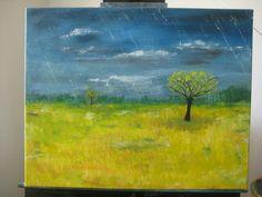 Raining meadow