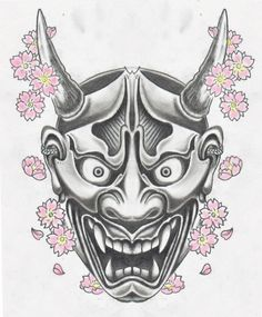 tattoo flsh masks tattoo hannya mask tattoo only tattoo tattoo outline . Oni Tattoo, Raijin Tattoo, Demon Tattoo, Samurai Maske Tattoo, Hannya Maske Tattoo, Hand Tattoos, Sleeve Tattoos, Tattoo Studio, Tattoo Mascara