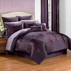 Purple/plum bedding from Purple Punch website