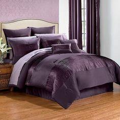 Purple/plum bedding from Purple Punch website