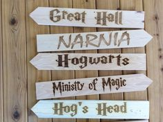 A personal favorite from my Etsy shop https://www.etsy.com/listing/542626226/whimsical-sign-directional-signs