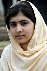 Malala Yousafzai, Teenage School Activist, Survives Taliban Attack -  14 yr. old Pakistani shot for advocating a women's access to education