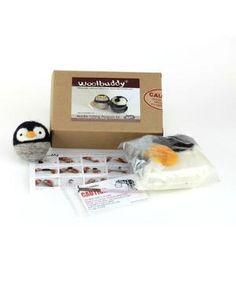 Penguin Needle Felting Kit $14.99 by Zulily