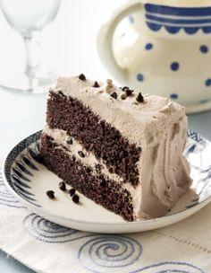 Chocolate Whipped Cream Cake Recipe.