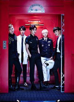 Rap Monster, Jin, Jungkook, Suga & J-Hope
