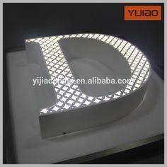 custom decorative acrylic frontlight led box letters with Avery film, View acrylic frontlight led box letters, YIJIAO Product Details from Shanghai Yijiao Industrial Co., Ltd. on Alibaba.com