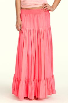 love the color of this calypso parachute skirt