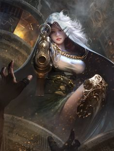 ArtStation - The thief girl, yue yue