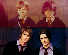 Remus & Sirius This is more how I imagined them looking when I read the book. Andrew Garfield and Ben Barnes