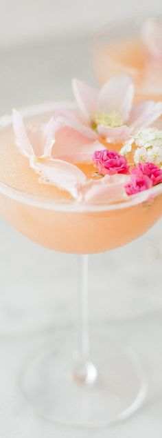 Rose Valentine's Day Cocktail