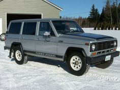 Learn more about 1980 Nissan Other Patrol on Bring a Trailer, the home of the best vintage and classic cars online. Nissan Patrol, Mercedes Gl, Patrol Gr, Nissan Infiniti, Jeep 4x4, Classic Cars Online, Old Cars, Offroad, Diesel