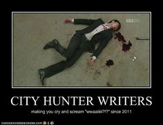 CITY HUNTER WRITERS