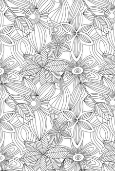 anti stress coloring pages - Google Search