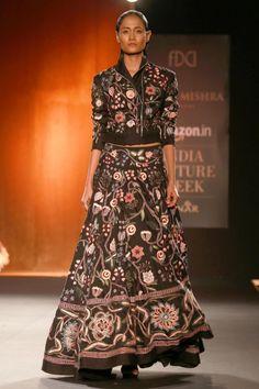 (310715) New Delhi: Amazon India Couture Week 2015 - Rahul Mishra show