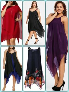All types of dresses. Look at these amazing chiffon dresses. Chiffon Dresses, Flattering Dresses, Types Of Dresses, Wedding Wear, Maid Of Honor, Plus Size Women, Plus Size Outfits, Plus Size Fashion, Bridesmaid Dresses