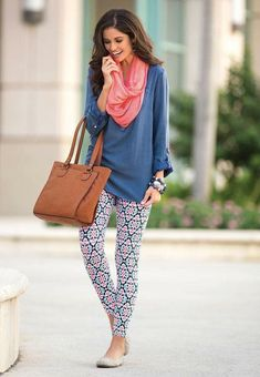 Cute outfit! Luv the pants!!