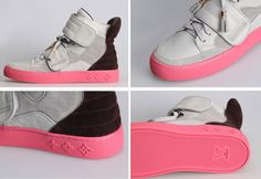 Louis Vuitton Kanye West fashion High Top sneakers