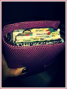 tab crazy in my filofax chameleon raspberry | Flickr - Photo Sharing!