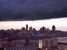 Like a scene out of Independence Day